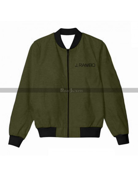 Rambo Cast & Crew Sylvester Stallone Bomber Jacket