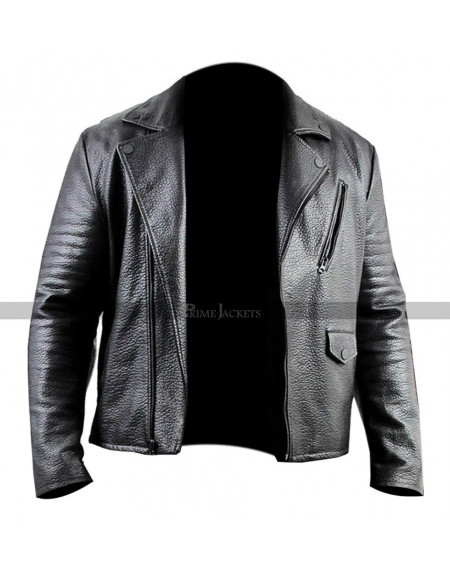 Ricco Barrino Leather Jacket