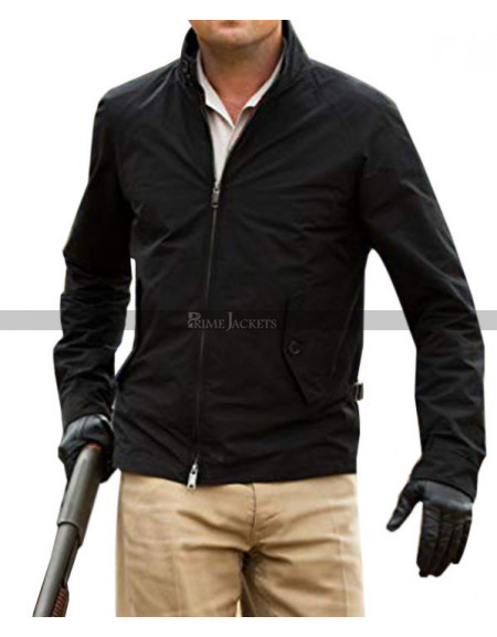 Leonardo DiCaprio Once Upon A Time In Hollywood Black Jacket
