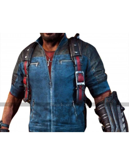Video Game Just Cause 3 Rico Rodriguez Leather Jacket
