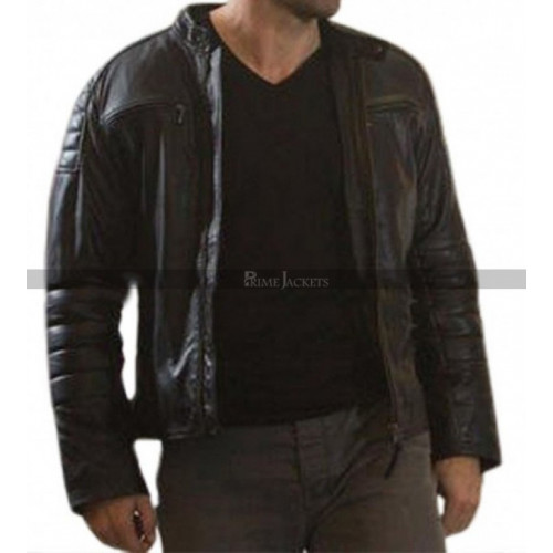 Accident Man Scott Adkins (Mike Fallon) Black Jacket