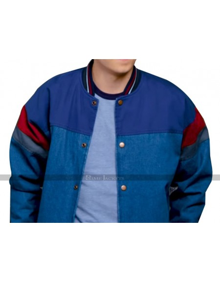 Asa Butterfield Sex Education Bomber Jacket