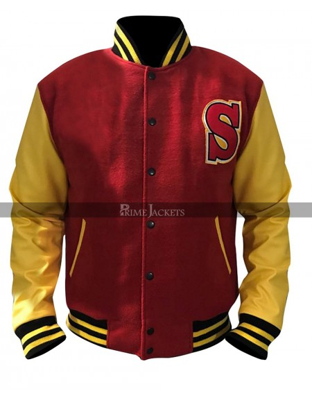 Crows Smallville Clark Kent Varsity Letterman Bomber Jacket