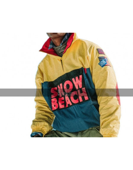 Hip Hop Snow Beach Yellow  Jacket