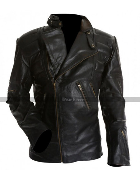 Staying Alive Tony Manero Black Leather Jacket
