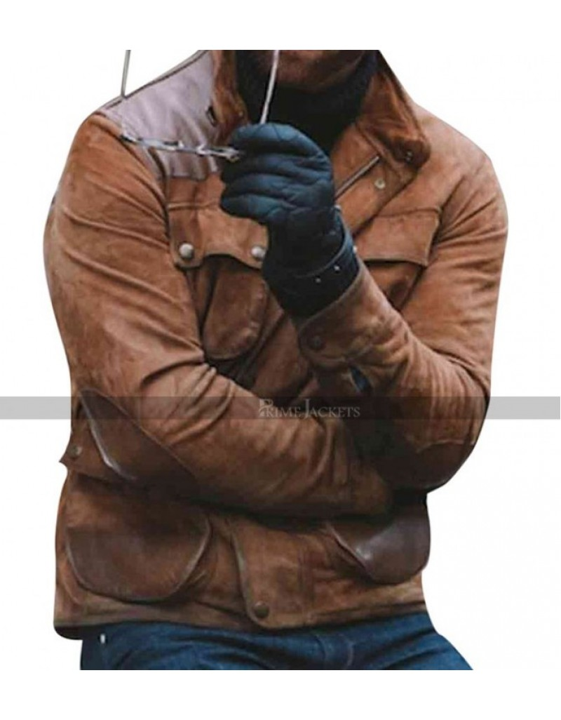 Craig Mcginlay Brown Leather Jacket