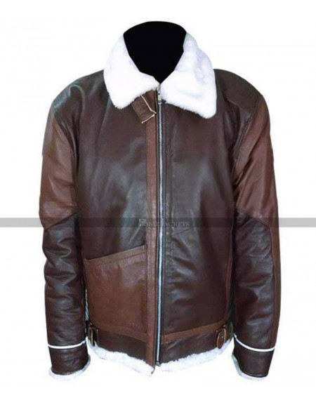 John Connor Terminator Salvation Alpha Vintage B3 Brown Jacket