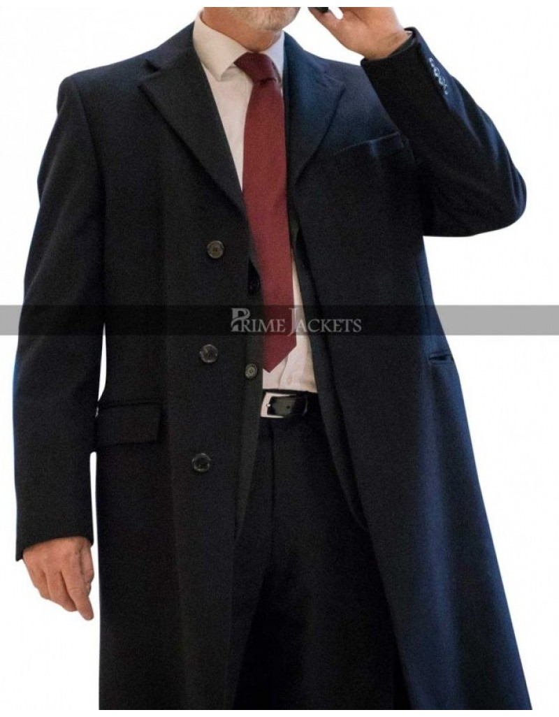 The Foreigner Movie Pierce Brosnan Liam Hennessy Trench Coat