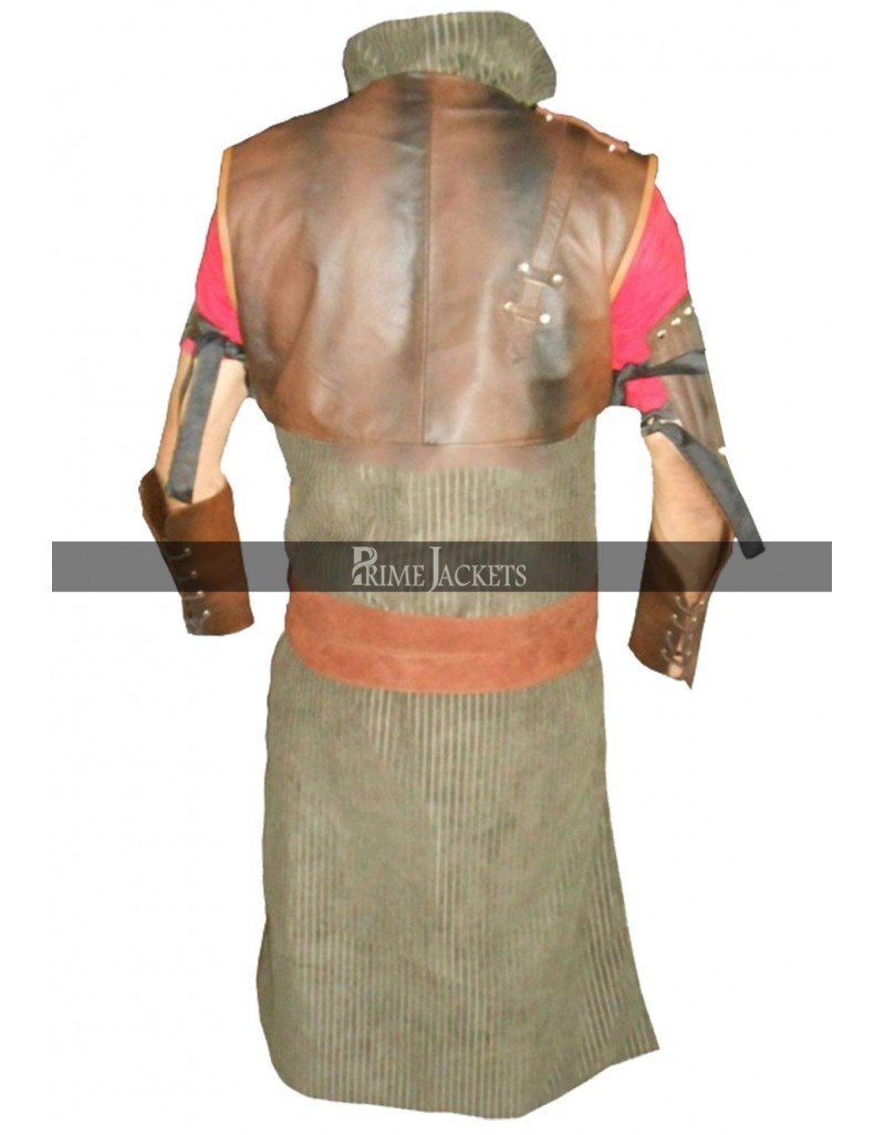 The Witcher 3 Wild Hunt Armor Geralt Bear  Leather Costume