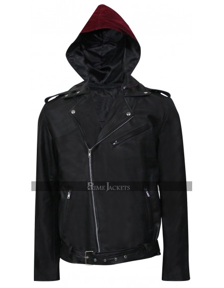 Metallica Through the Never Dane DeHaan (Trip) Black Hoddie Jacket