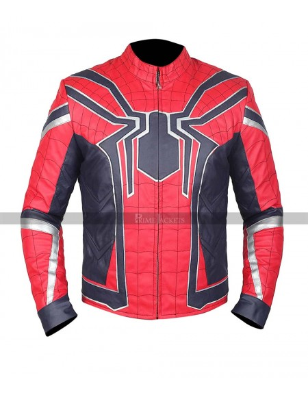 Avengers Infinity War Spiderman Costume Jacket