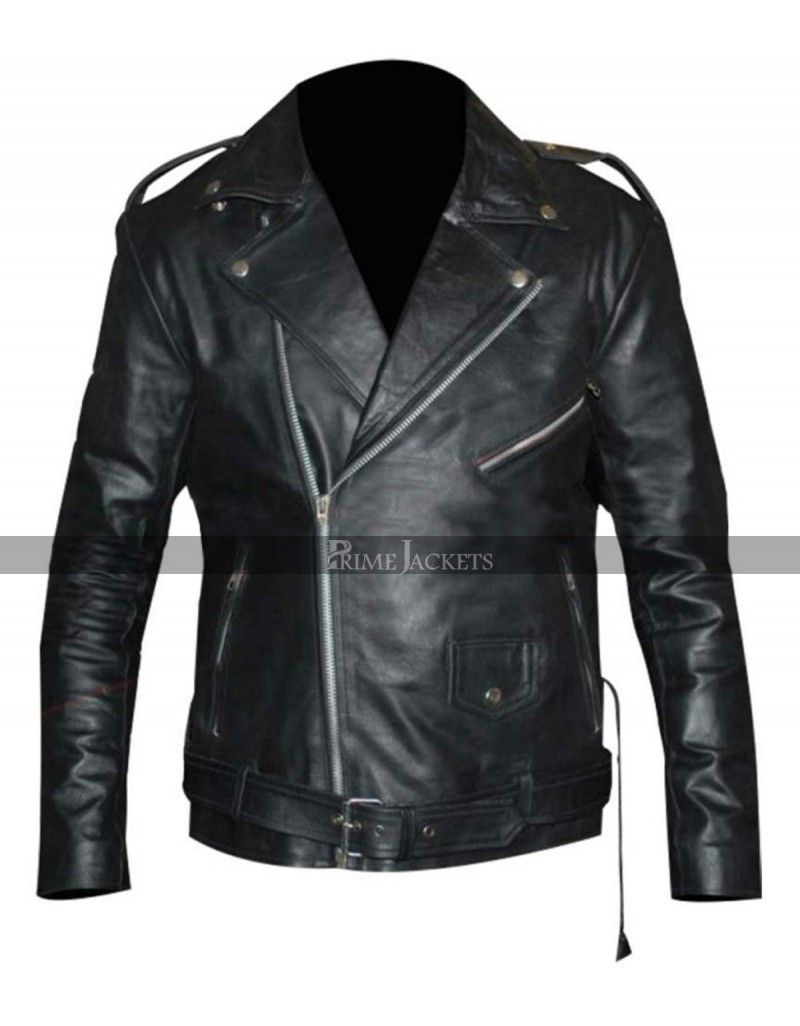 large discount new arrival great deals WWE Wrestler Triple H Black Leather Jacket