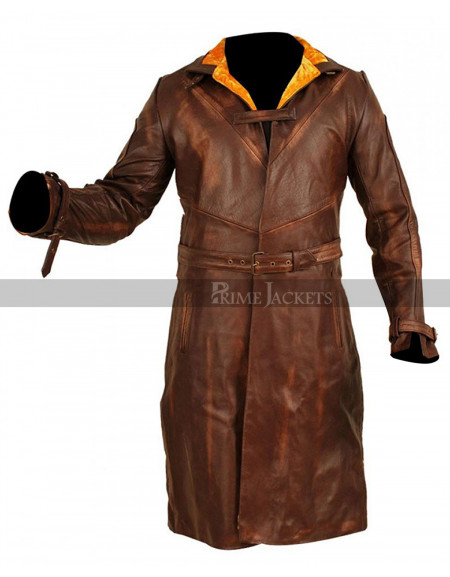 Watch Dogs (Wd.Aiden Pearce) Trench Leather Coat
