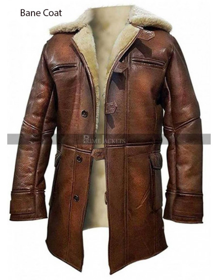 XXX 3 The Return of Xander Cage Vin Diesel Brown Fur Coat