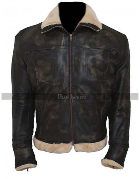XXX Xander Cage Vin Diesel Fur Distressed Jacket