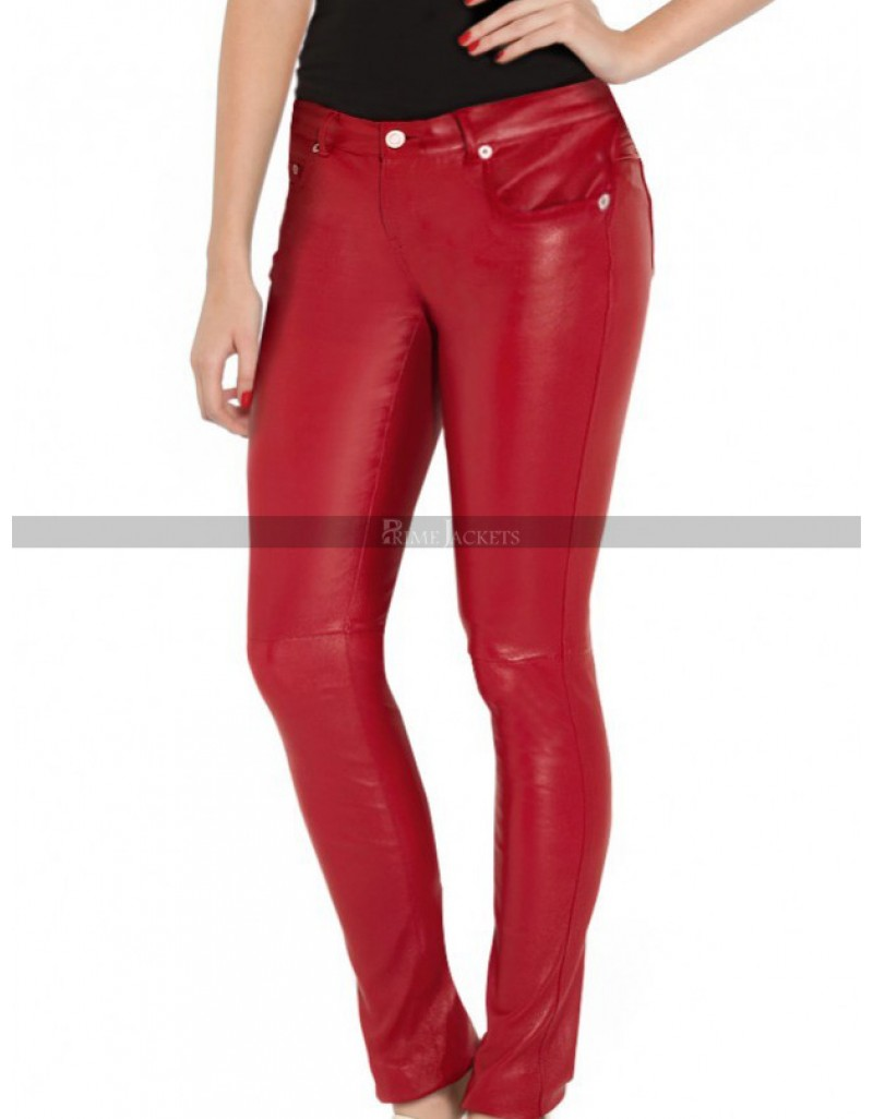 South Side River Dale Cheryl Blossom Leather Pants Jacket