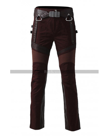 Star Lord Guardians of Galaxy 2 Chris Pratt Leather Pants