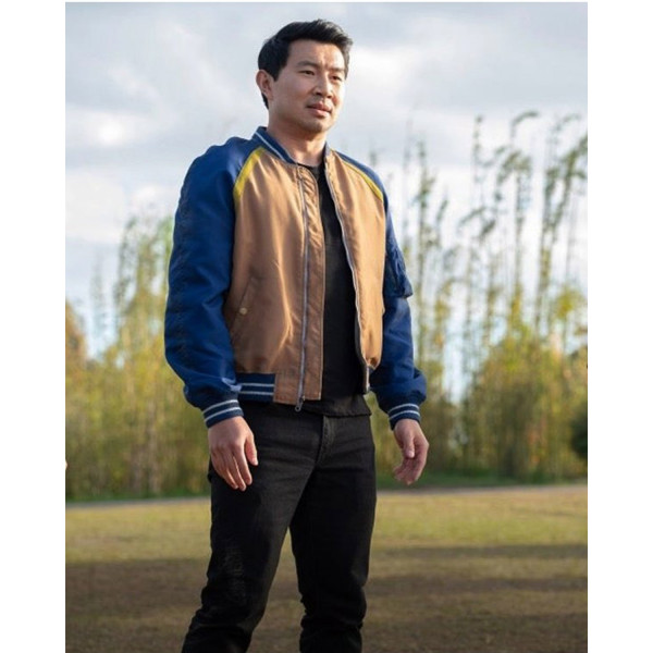 Shang-Chi and the Legend of the Ten Rings Simu Liu Bomber Jacket