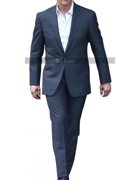 Ethan Hunt Mission Impossible Blue Suit