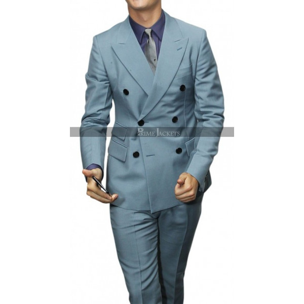 Baby Driver Ansel Elgort Suit