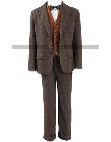 Eddie Redmayne Fantastic Beast Find Them 3 Piece Suit