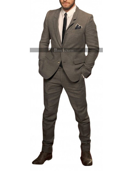 Jude Law at BFI London Film Festival Suit