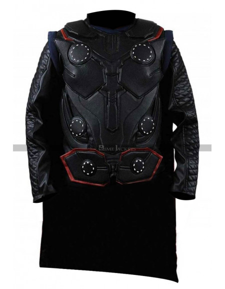 Avengers Infinity War Thor Leather Vest Costume