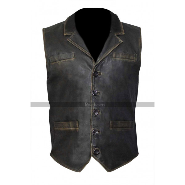 Cullen Bohannon Hell on Wheels Leather Vest