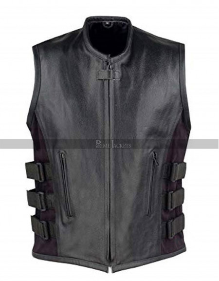 Mortal Kombat X Noob Saibot Leather Vest