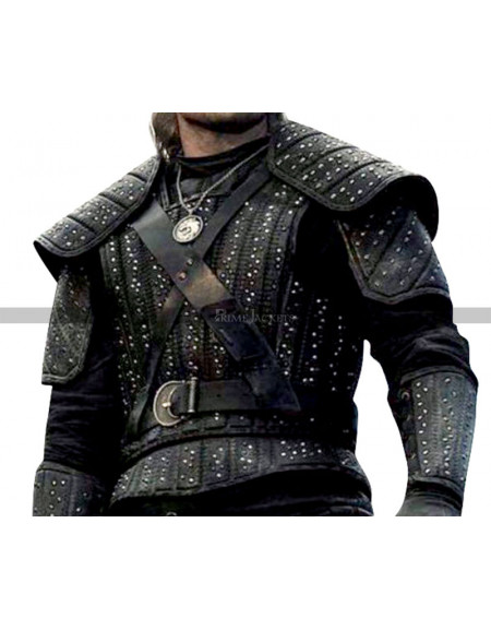 The Witcher Netflix Series Leather Vest