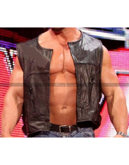 WWE Ryback Rules Leather Vest