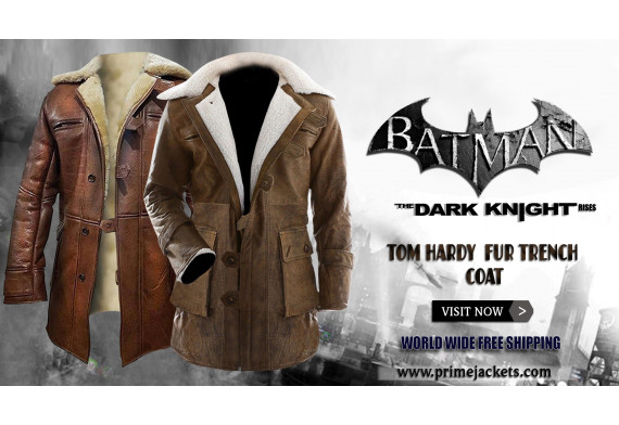 The Dark Knight Rises Bane Fur Coat