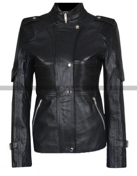 Helen Magnus Sanctuary Black Leather Jacket