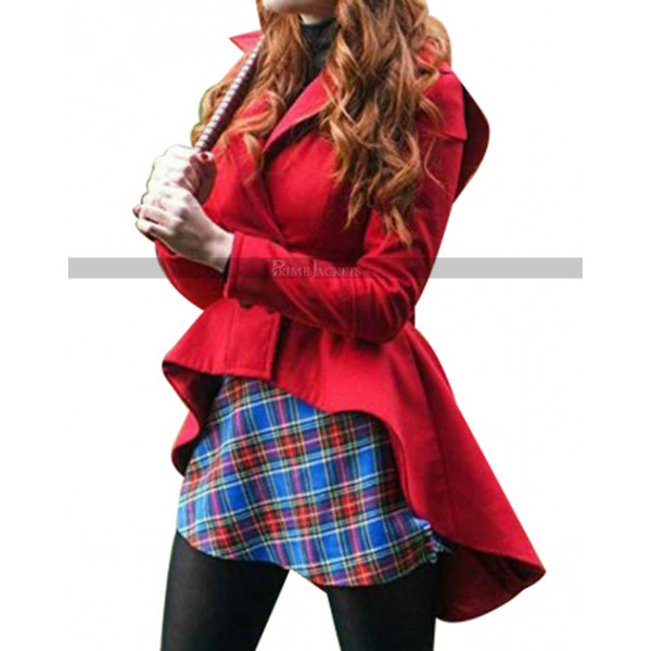 Riverdale Cheryl Blossom Red Hooded Jacket