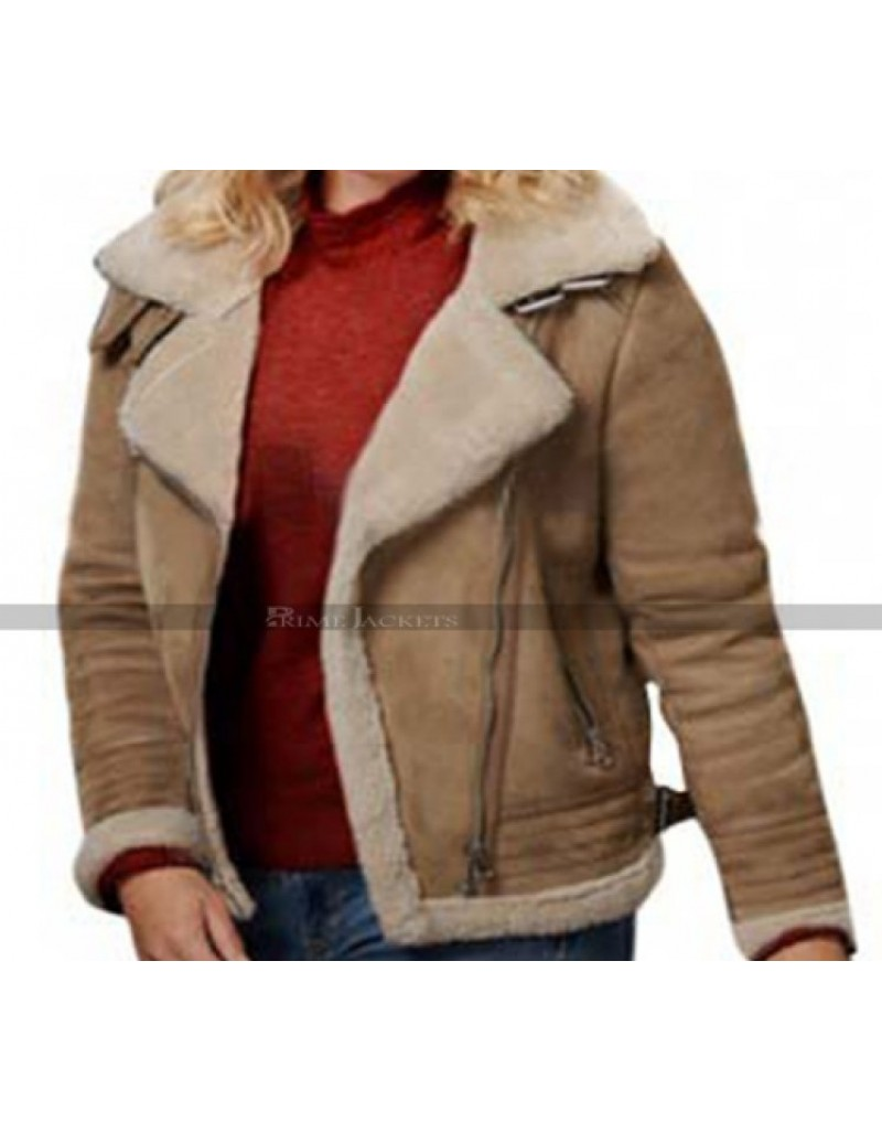 Eloise Mumford A Veteran's Christmas Fur Leather Jacket