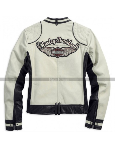 Womens HD Racing Leather Jacket
