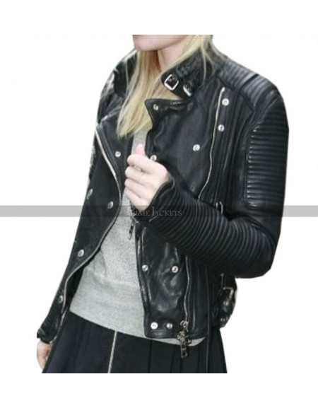Kate Bosworth Motorcycle Leather Jacket