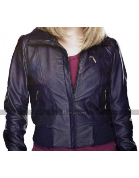 Doctor Who Rose Tyler Purple Jacket