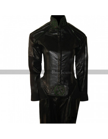 X-men Rogue Costume Black Leather Jacket