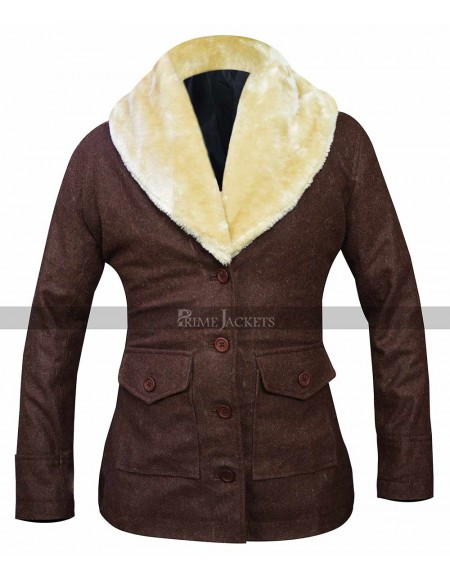Yellowstone Beth Dutton Shearling Coat
