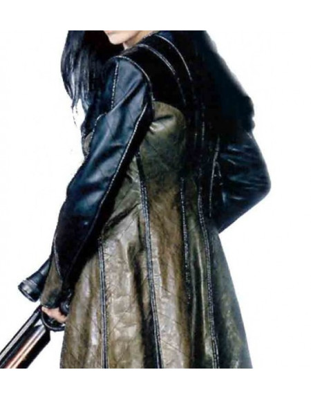 Farscape Claudia Black Aeryn Sun Leather Coat