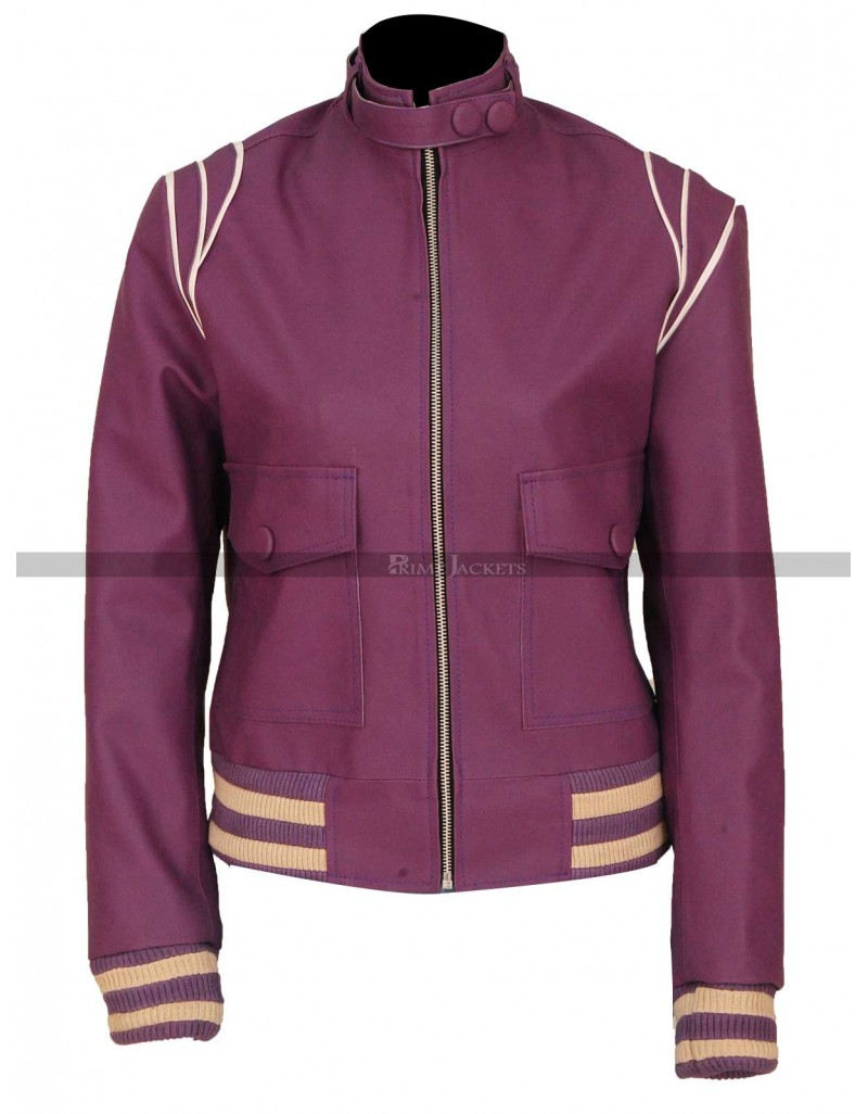 Glow Ruth Alison Brie Bomber Jacket