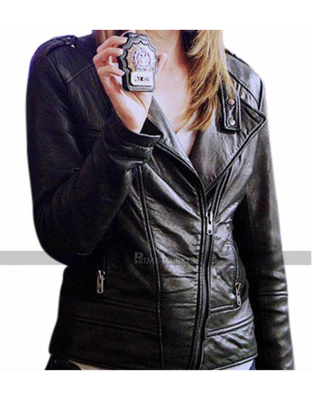 Castle Stana Katic Kate Beckett Leather Jacket