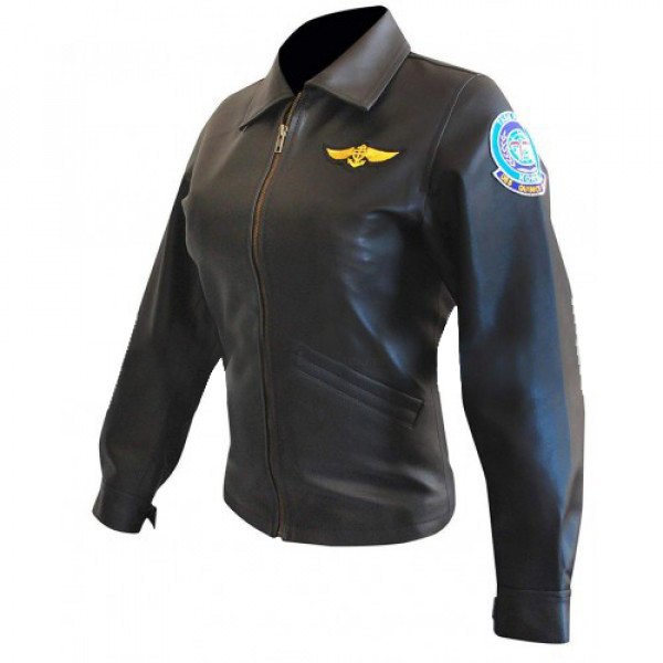 Top Gun Kelly Mcgillis Flight Jacket