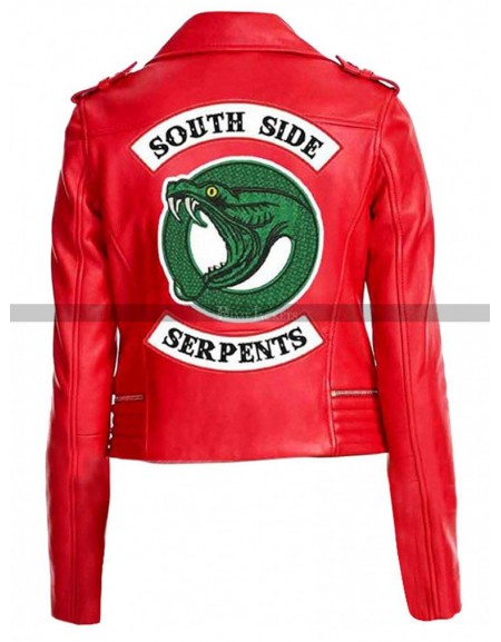 Riverdale Southside Leather Jacket For Women