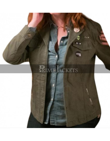 The Strangers Prey at Night Christina Hendricks Cindy green Jacket