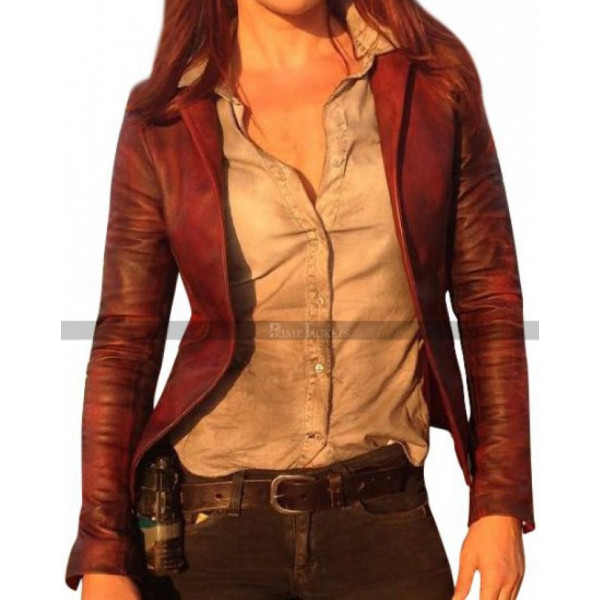 Revelations 2 Claire Redfield Leather Jacket