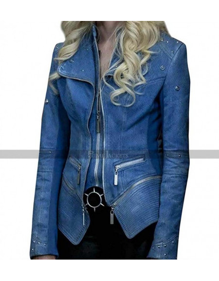The Flash Caitlin Snow Killer Frost S4 Danielle Panabaker Jacket