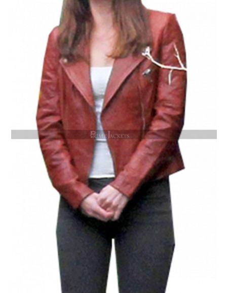 Anastasia Steele Fifty Shades Of Grey Red Jacket