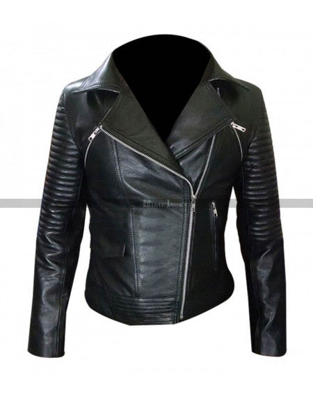 Fast And Furious 6 Gal Gadot (Gisele Harabo) Black Jacket